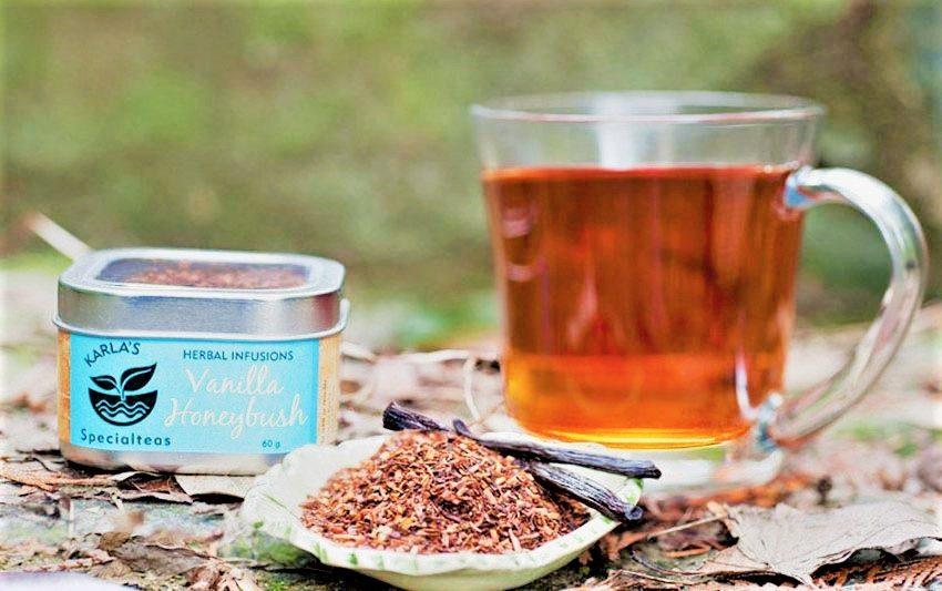 ханибуш чай в чашке